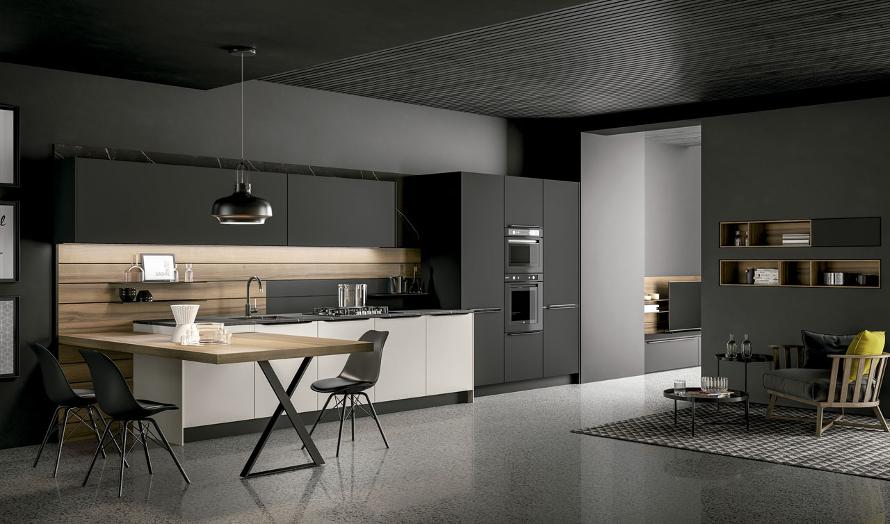 Modern Kitchen Arredo3 Kalì Model 8