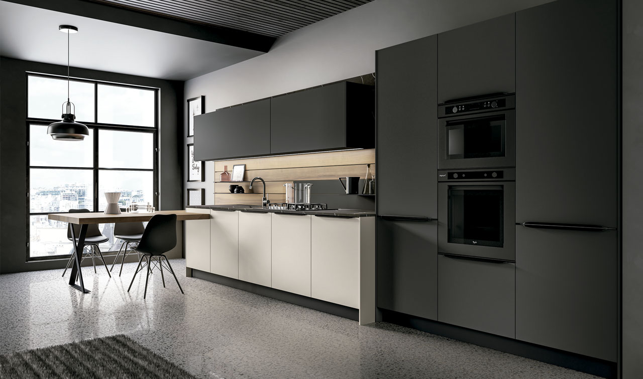 Modern Kitchen Arredo3 Kali Model 8