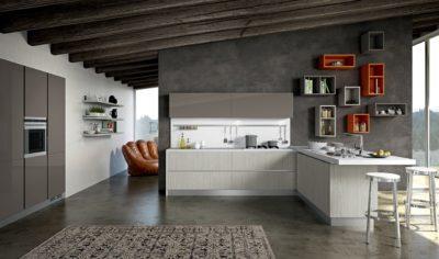 Modern Kitchen Arredo3 Linea Model 01 - 01