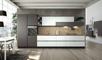 Modern Kitchen Arredo3 Linea Model 02 - 01