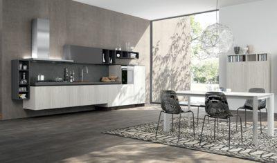 Modern Kitchen Arredo3 Linea Model 03 - 01
