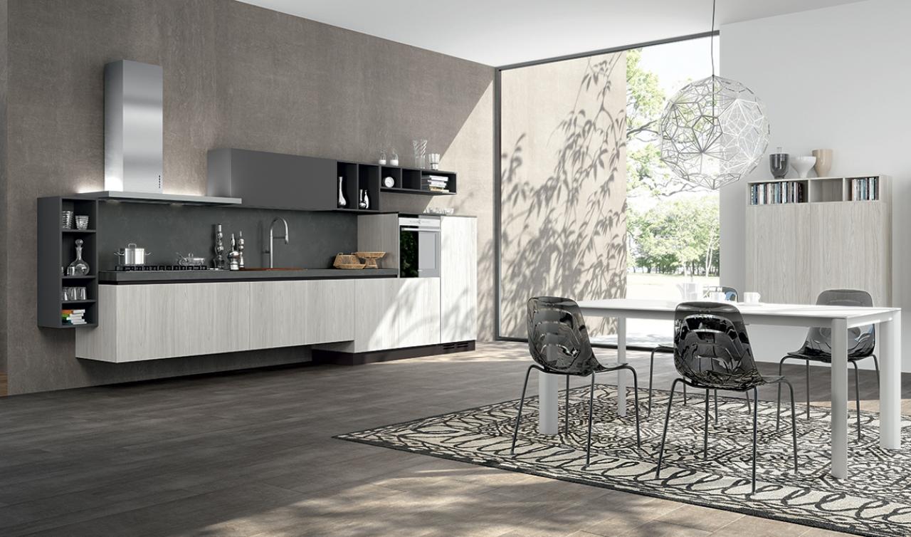 Modern Kitchen Arredo3 Linea Model 03