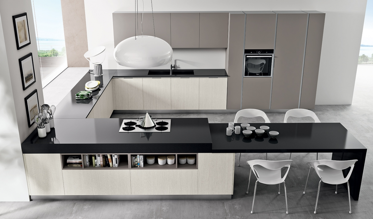 Modern Kitchen Arredo3 Linea Model 04