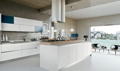 Modern Kitchen Arredo3 Linea Model 05 - 01
