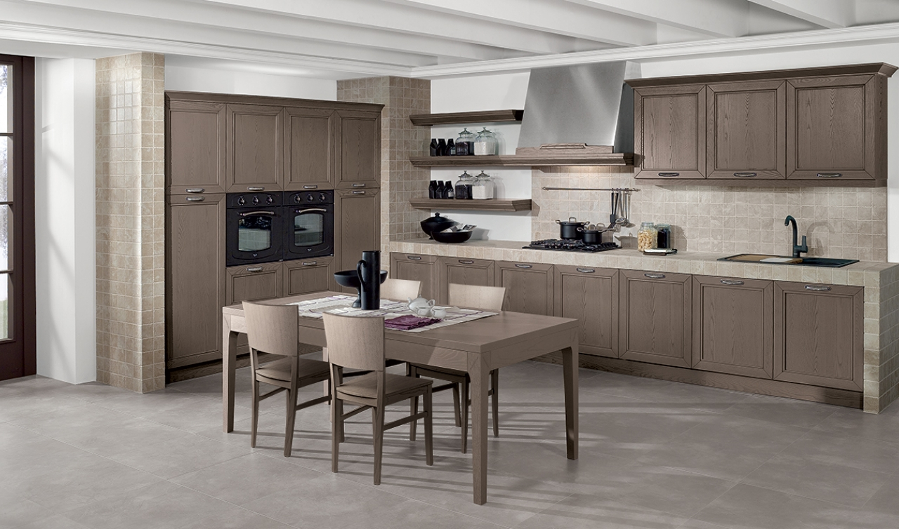 Classic Kitchen Arredo3 Opera Model 02