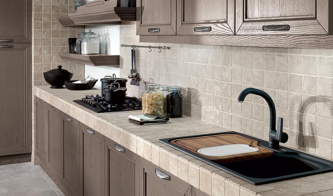 Classic Kitchen Arredo3 Opera Model 02 - 04