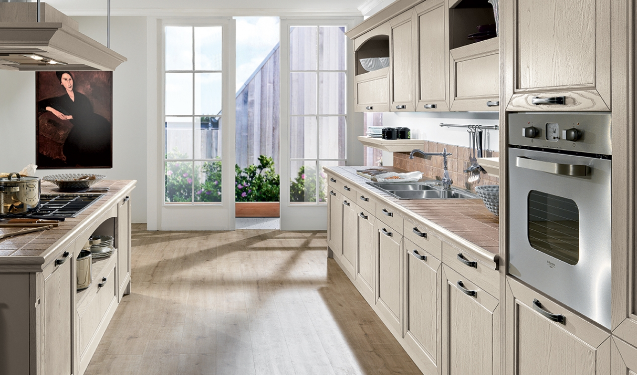 Classic Kitchen Arredo3 Opera Model 04 - 03
