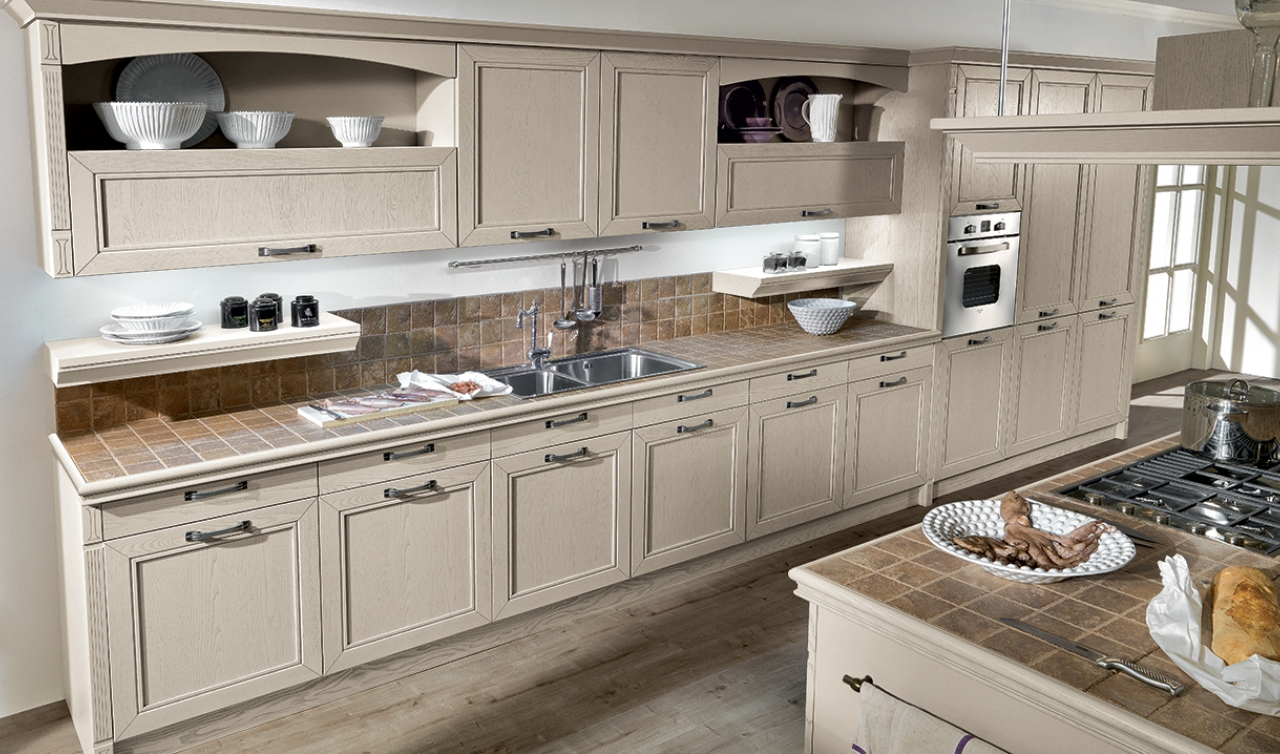 Classic Kitchen Arredo3 Opera Model 04 - 04