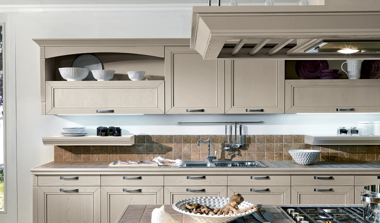 Classic Kitchen Arredo3 Opera Model 04 - 06