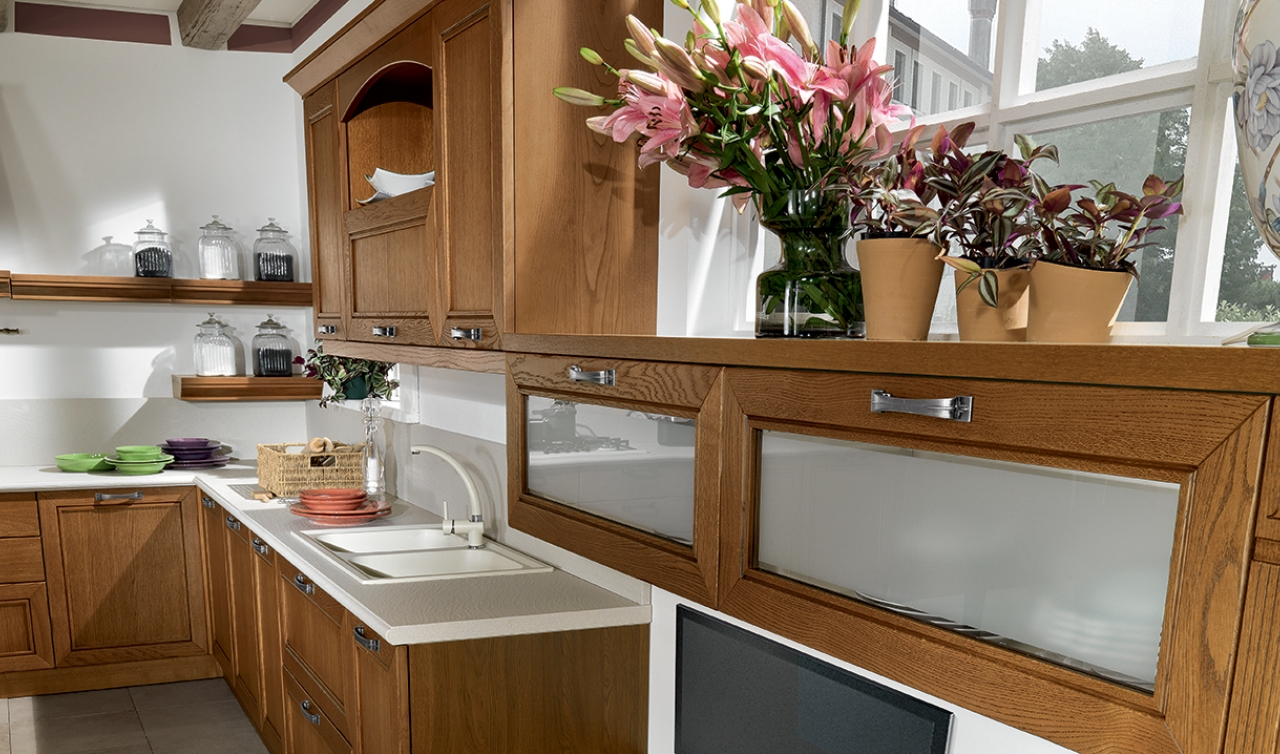 Classic Kitchen Arredo3 Opera Model 05 - 02