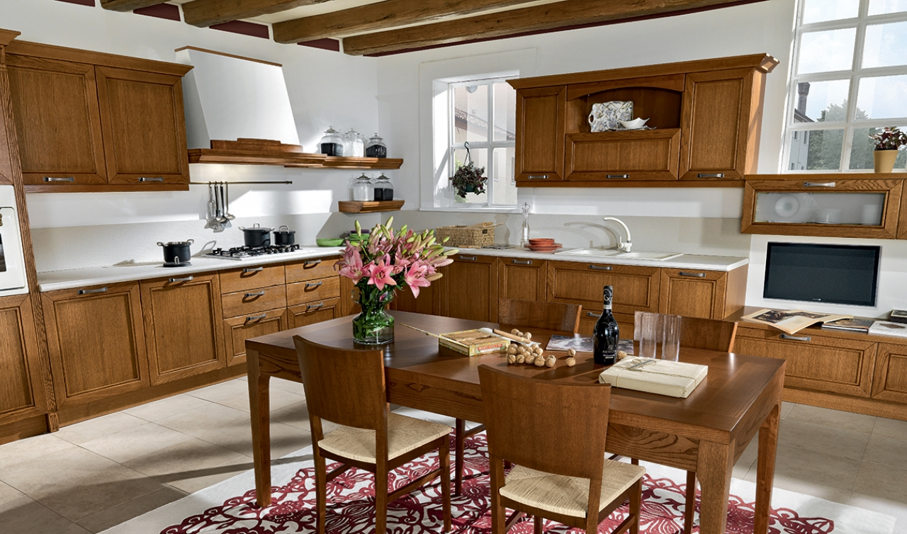 Classic Kitchen Arredo3 Opera Model 05 - 04