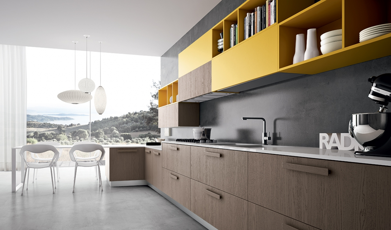 Modern Kitchen Arredo3 Pentha Model 01