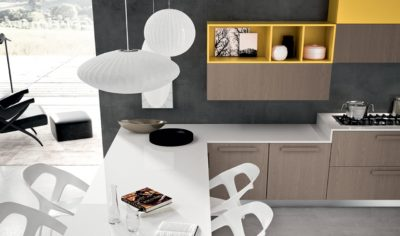Modern Kitchen Arredo3 Pentha Model 01 - 02