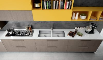Modern Kitchen Arredo3 Pentha Model 01 - 05