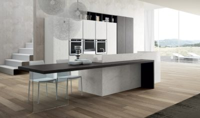 Modern Kitchen Arredo3 Pentha Model 02 - 01