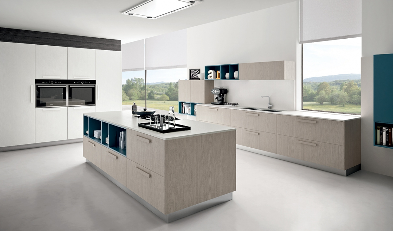 Modern Kitchen Arredo3 Pentha Model 03