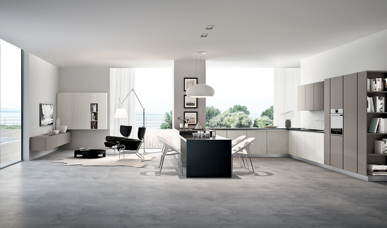 Modern Kitchen Arredo3 Pentha Model 04