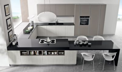 Modern Kitchen Arredo3 Pentha Model 04 - 02