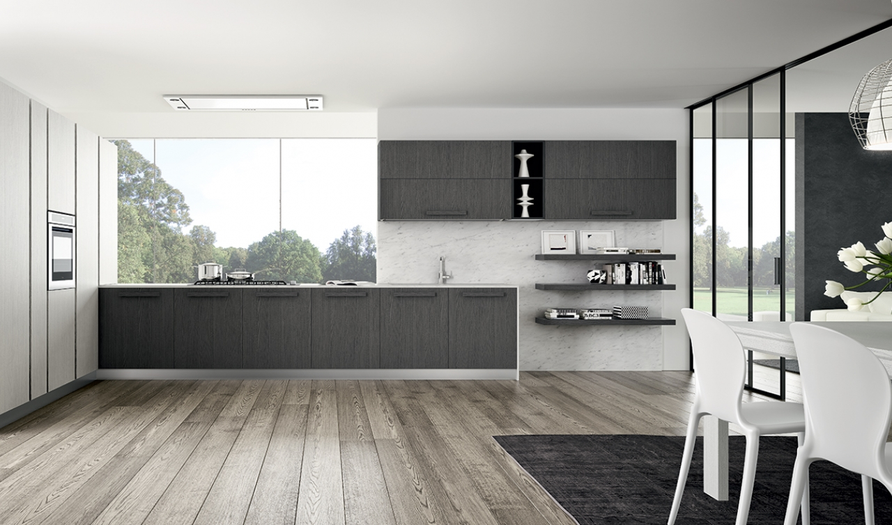 Modern Kitchen Arredo3 Pentha Model 05