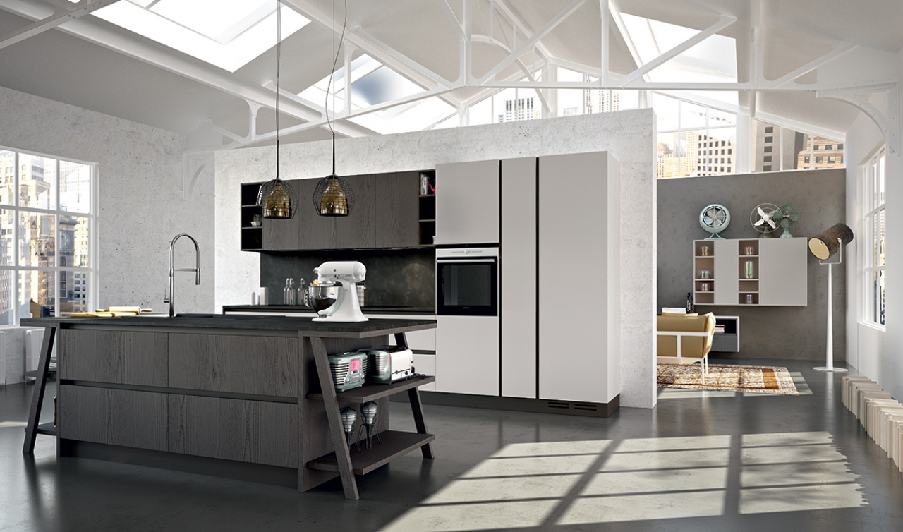 Modern Kitchen Arredo3 Plana Model 01