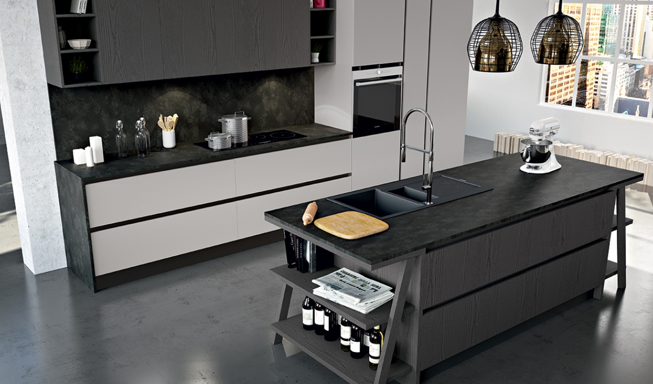 Modern Kitchen Arredo3 Plana Model 01 - 02