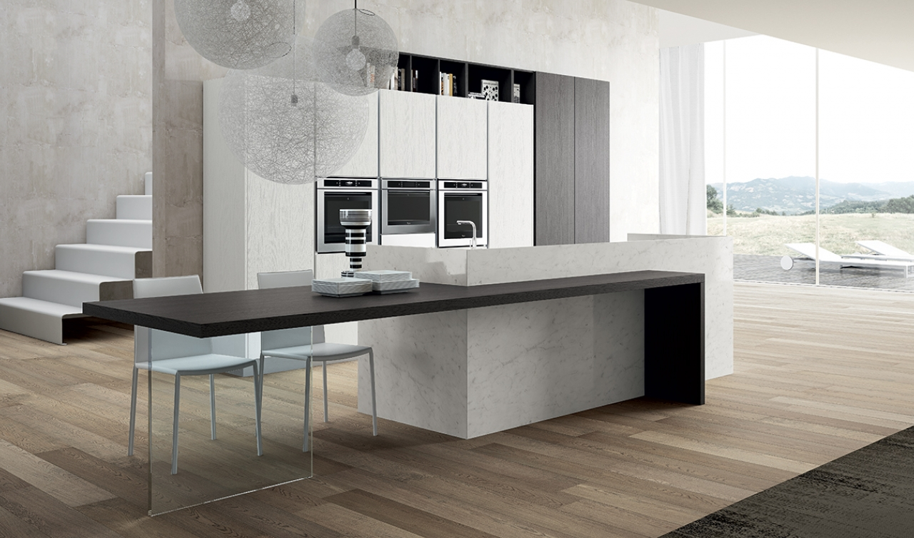 Modern Kitchen Arredo3 Plana Model 02