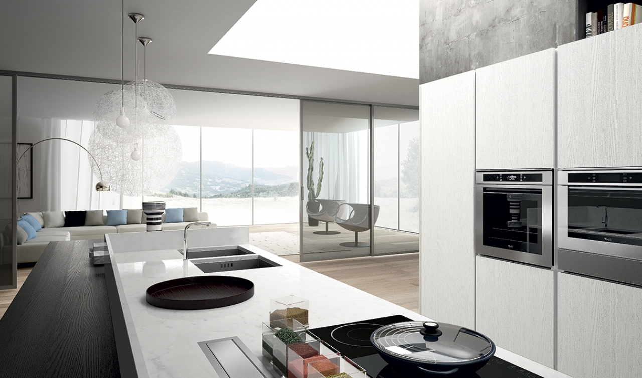 Modern Kitchen Arredo3 Plana Model 02 - 02