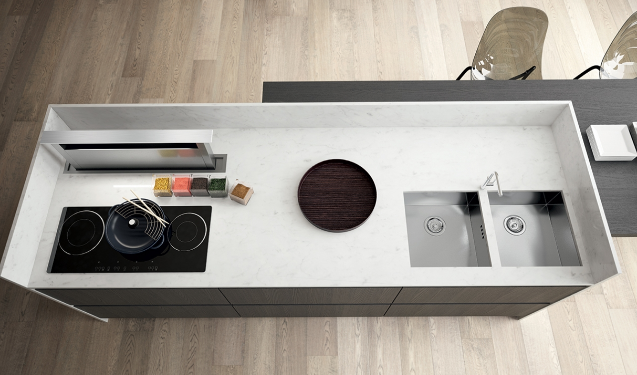 Modern Kitchen Arredo3 Plana Model 02 - 03