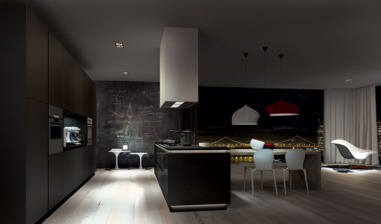 Modern Kitchen Arredo3 Plana Model 03 - 01