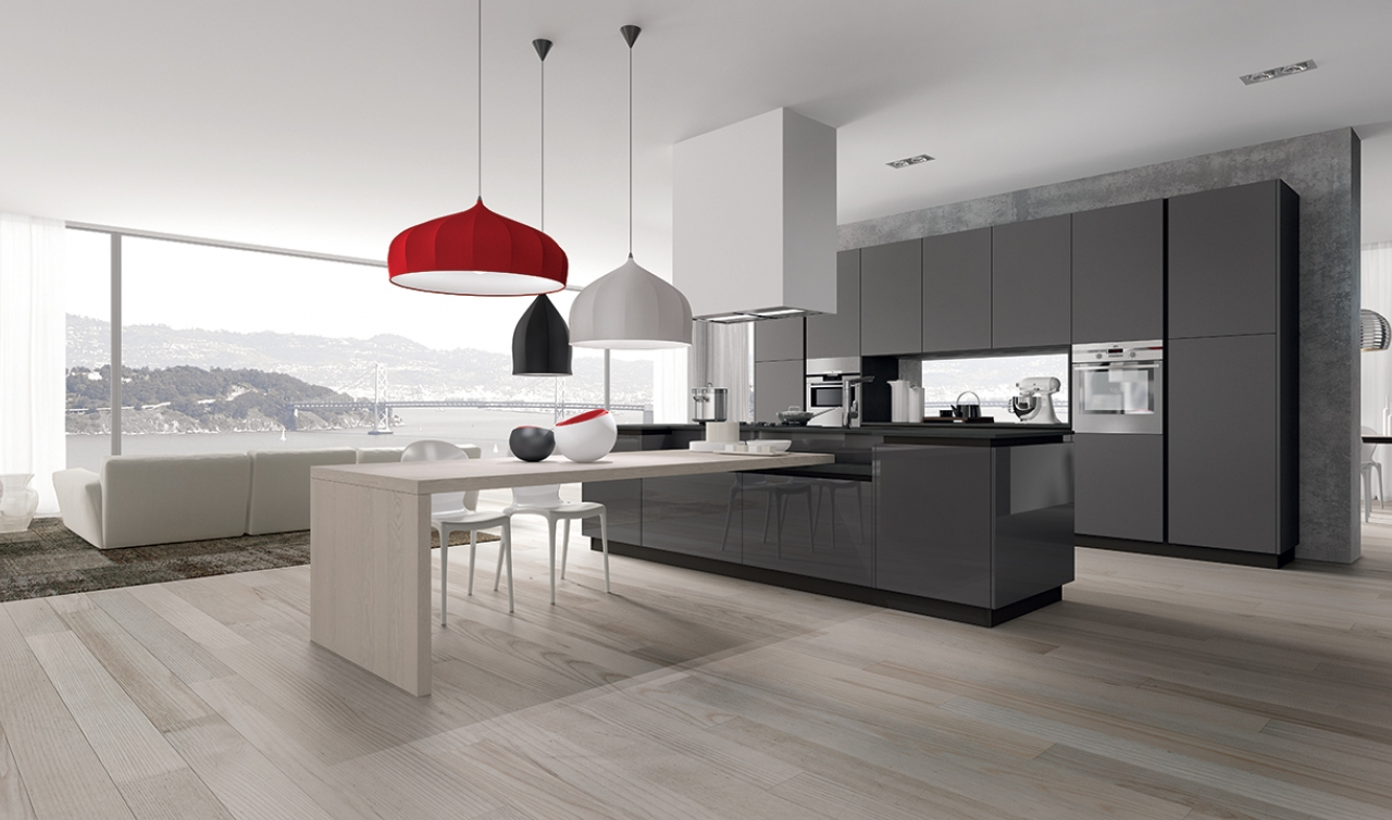 Modern Kitchen Arredo3 Plana Model 03