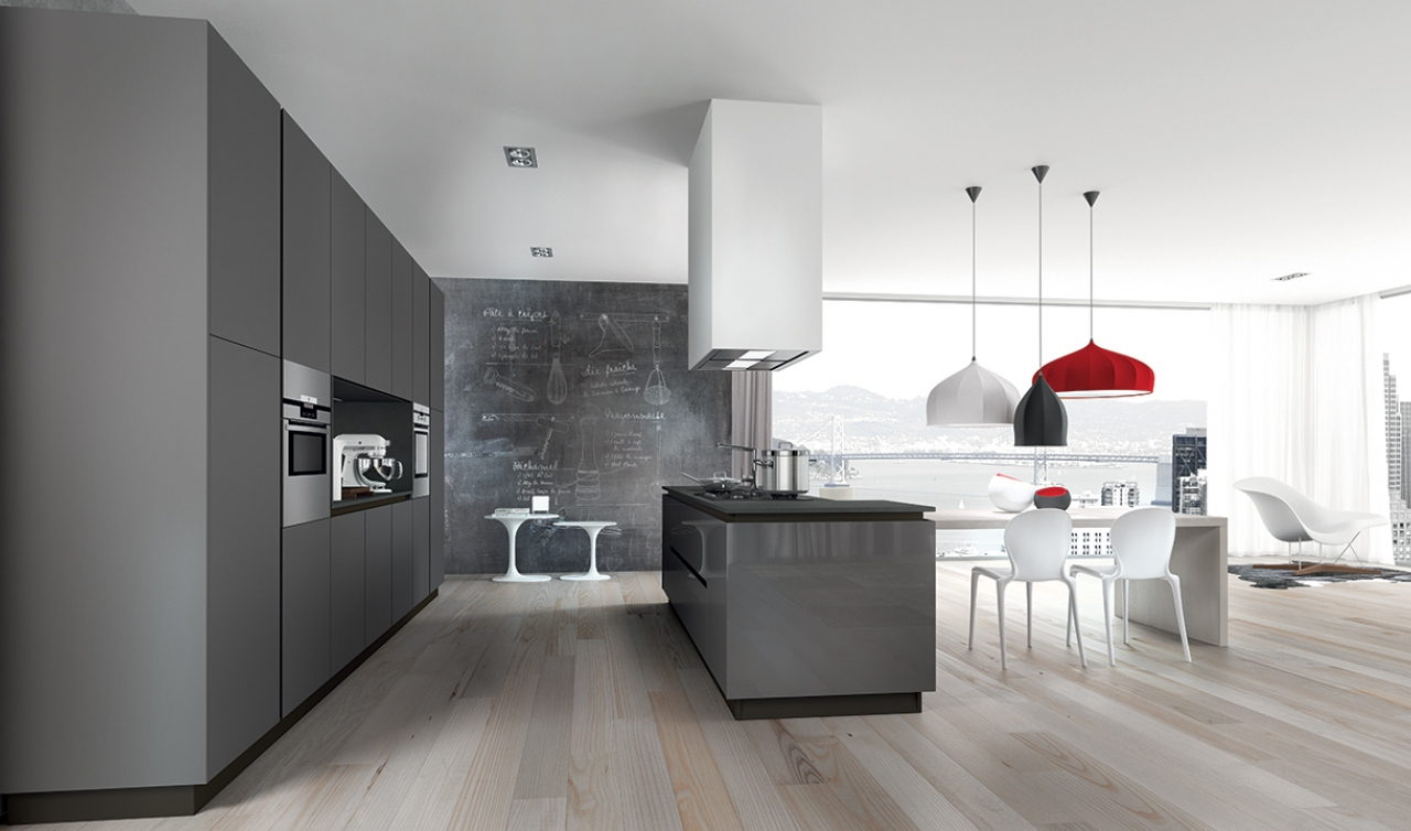 Modern Kitchen Arredo3 Plana Model 03 - 04