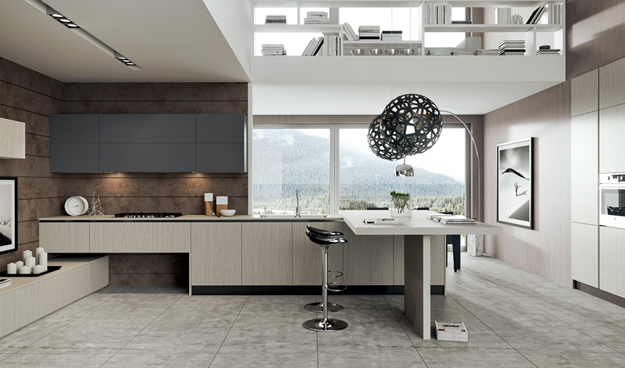 Modern Kitchen Arredo3 Plana Model 04