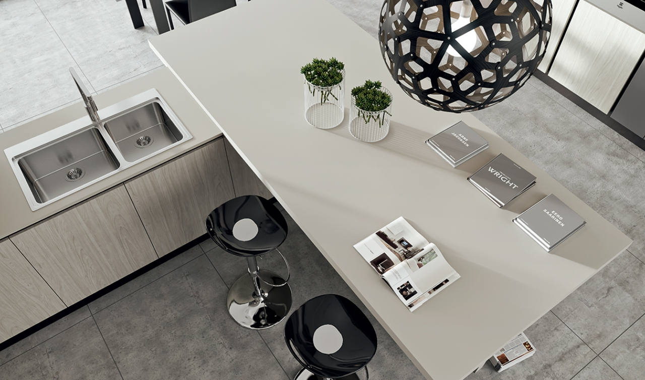 Modern Kitchen Arredo3 Plana Model 04 - 03