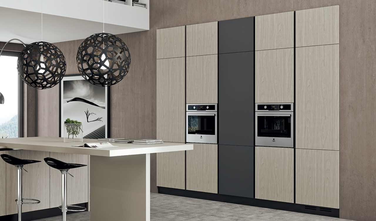 Modern Kitchen Arredo3 Plana Model 04 - 04