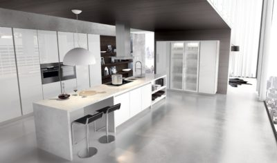 Modern Kitchen Arredo3 Plana Model 05 - 01