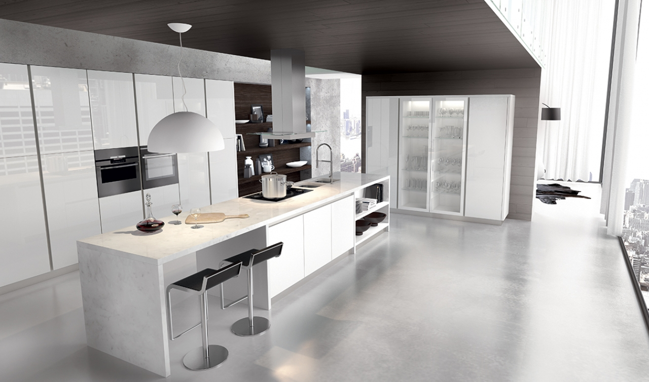 Modern Kitchen Arredo3 Plana Model 05