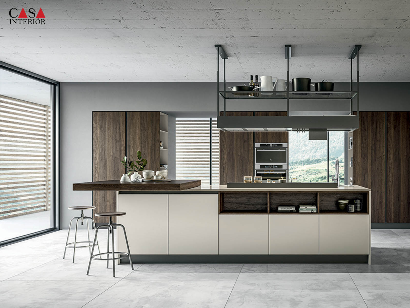 Modern Kitchen Arredo3 Round