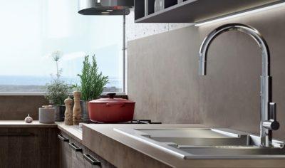 Modern Kitchen Arredo3 Round Model 01 - 03