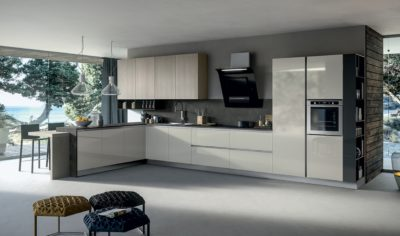 Modern Kitchen Arredo3 Round Model 03 - 01