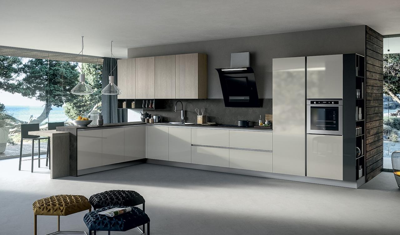 Modern Kitchen Arredo3 Round Model 03