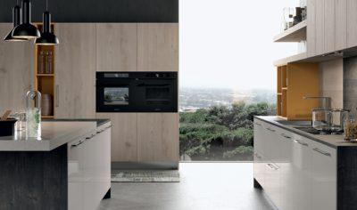 Modern Kitchen Arredo3 Round Model 04 - 02