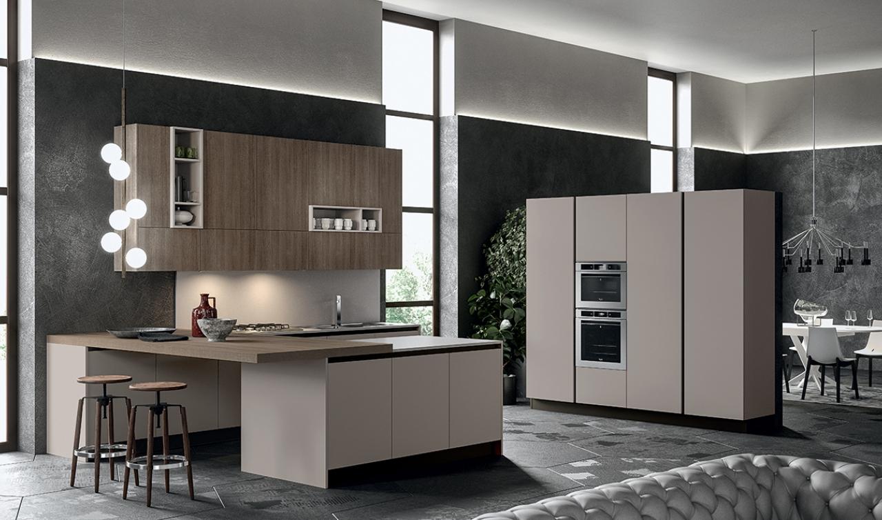 Modern Kitchen Arredo3 Round Model 05