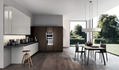 Modern Kitchen Arredo3 Time Model 01 - 01