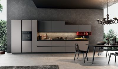 Modern Kitchen Arredo3 Time Model 02 - 01