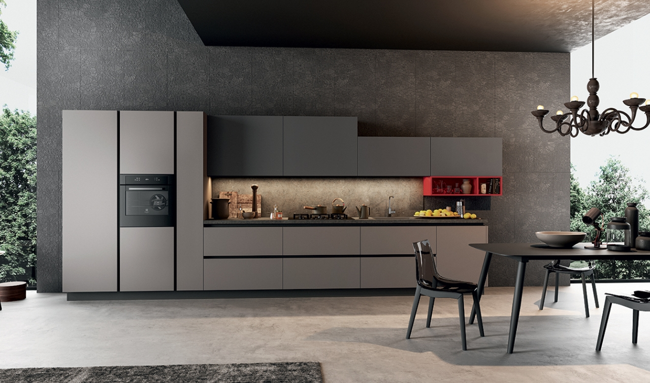 Modern Kitchen Arredo3 Time Model 02