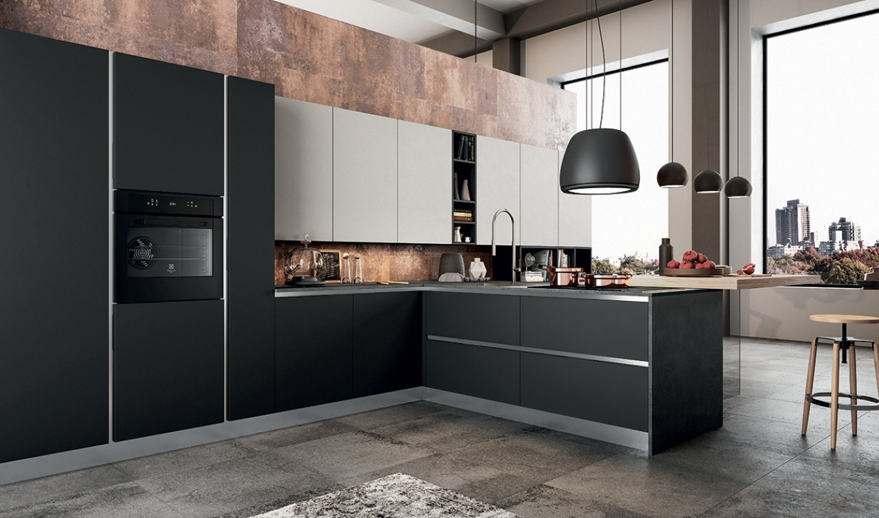 Modern Kitchen Arredo3 Time Model 03