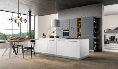 Modern Kitchen Arredo3 Time Model 04 - 01