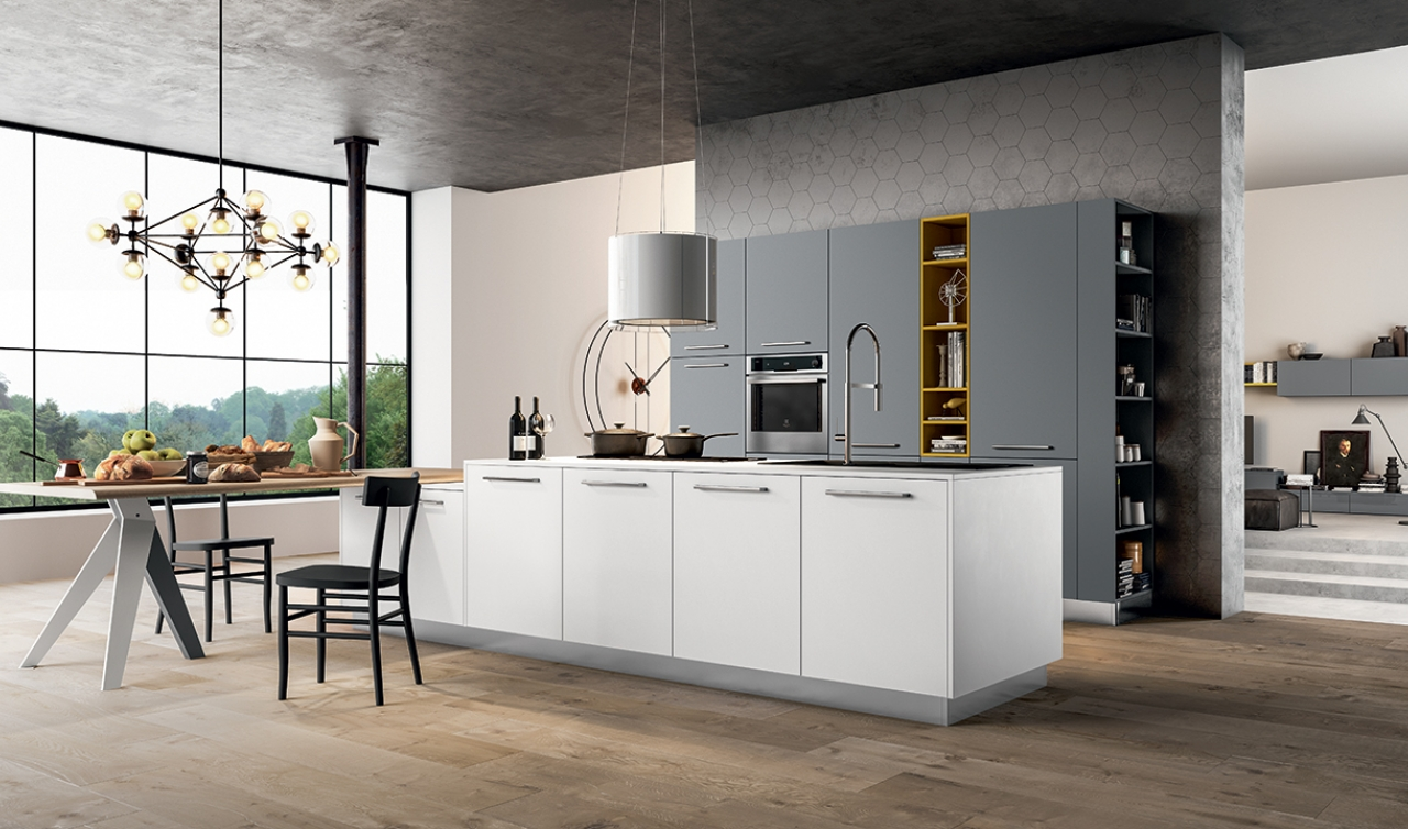 Modern Kitchen Arredo3 Time Model 04