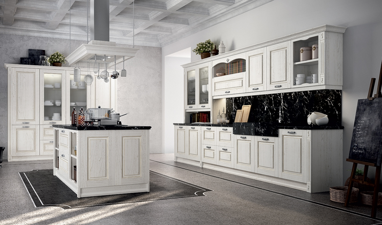 Classic Kitchen Arredo3 Verona Model 01 - 04