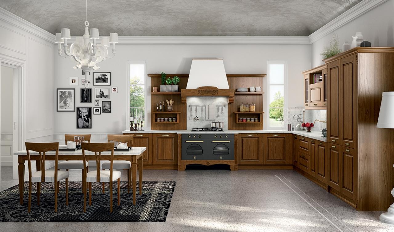 Classic Kitchen Arredo3 Verona Model 02